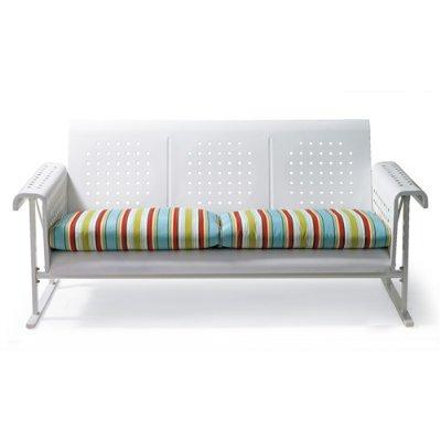 Amazon Com Retro Outdoor Sofa Outdoor Glider Cushion White