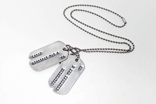 Guild Wars Cosplay Costumes - Logan Wolverine WWII Military Dog Tags