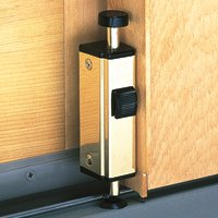 Andersen Auxiliary Security Lock, Foot Latch - White - (Auxiliary Lock)