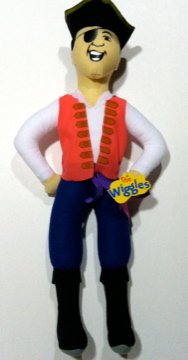 Captain Feathersword the Wiggles Plush -