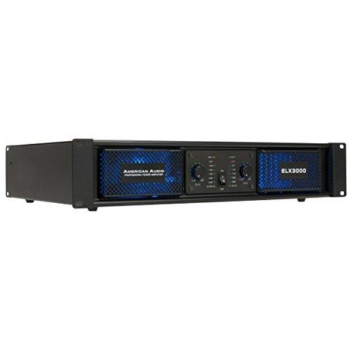American Audio ELX3000 Power Amp 2x180W @ 8 ohms