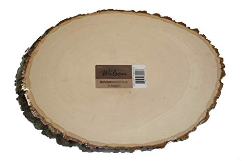 Wilson Basswood Round/Oval (X Large (12