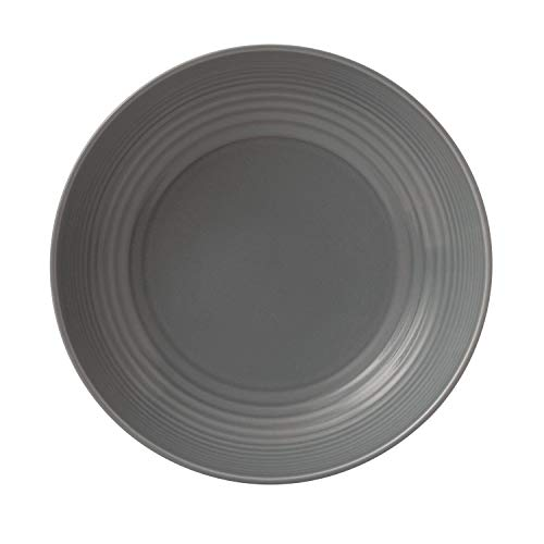 Royal Doulton Gordon Ramsay Maze Pasta Bowl, Grey