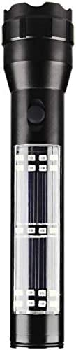 SolarLight Solar Assisted Flashlight | Multi-Functional | Charge Electronics | Magnetic Bottom | Vertical Lant