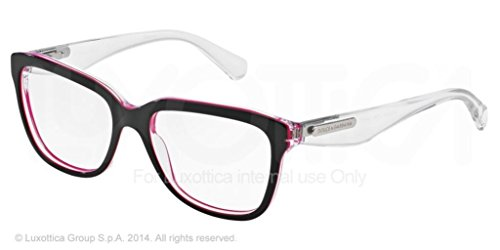 Dolce&Gabbana 3 LAYERS DG3193 Eyeglass Frames 2795-52 - Havana/pearl White/cryst - Dolce And Gabbana Shades Prices