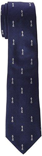 Scalpers ICONO TIE, Corbata para Hombre, Azul (Navy 11606), Z ...