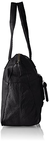 Noos PIECES Borsette polso da Donna Pcabby Bag Nero Black Leather qffFnZpSO