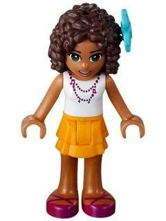 Amazoncom Lego Friends Andrea Weiß Hemd Orange Rock