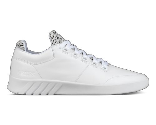 K-Swiss Men's Aero Trainer Sneaker White/Black 10.5 for sale  Delivered anywhere in USA