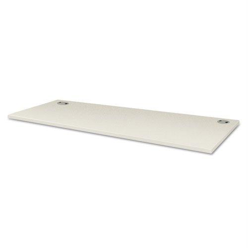 HON VTR60BB VOI Rectangular Worksurface, 60w x 24d, Silver Mesh