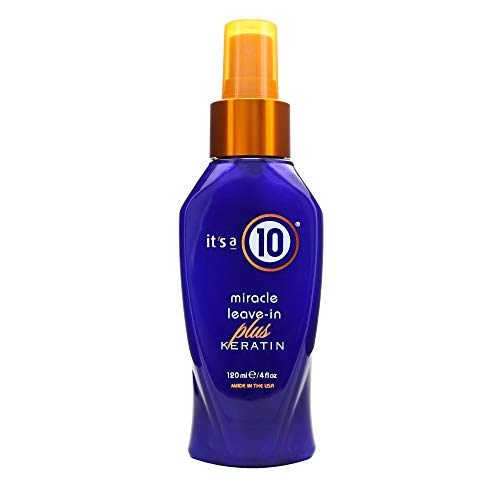 It's a 10 Haircare Miracle Leave-In Plus Keratin, 4 fl. oz. (Best Conditioner For Straw Like Hair)