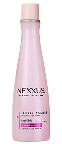 Nexxus Shampoo Color Assure White Orchid Extract 13.5 Ounce (399ml) (2 Pack)