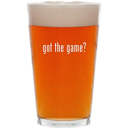 got the game? - 16oz All Purpose Pint Beer Glass (Friv Best Racing Games)
