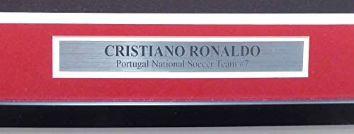 7fb1d3547d878 Cristiano Ronaldo Autographed Framed Nike Portugal Authentic Red ...