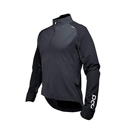 POC Resistance Pro XC Splash Jacket, Mountain Biking Apparel, Carbon Black, L