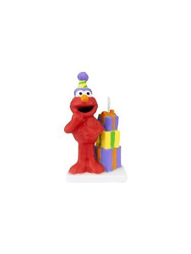 Wilton Sesame Street Licensed Birthday Candle (Sesame Street Candles)
