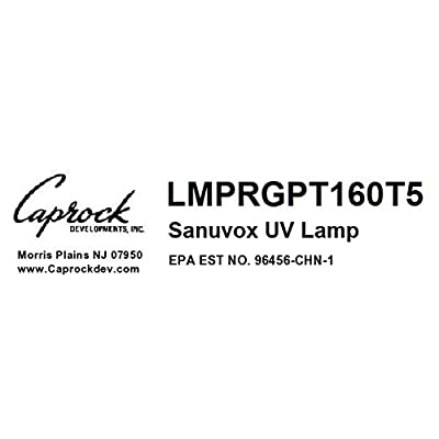 REPLACEMENT BULB Sanuvox LMPRGPT160T5 UV Lamp Saber 16//24-GM Sabersmart Genius