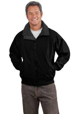 Port Authority Challenger Jacket. J754 True Black/True Black XL