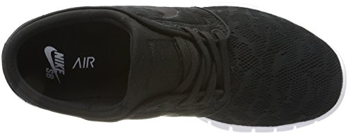 Black Hombre Janoski Stefan Nike Skateboard 022 Zapatillas Negro para MAX Black White de avppwn6q