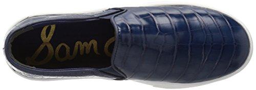 Sam Edelman Kvinders Lacey Mode Sneaker Inky Blå Krokodille hOsbPQVPM