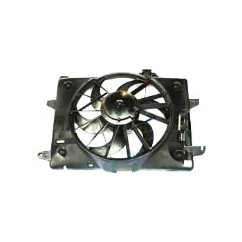 TYC 620260 Ford/Mercury Replacement Radiator/Condenser Cooling Fan Assembly