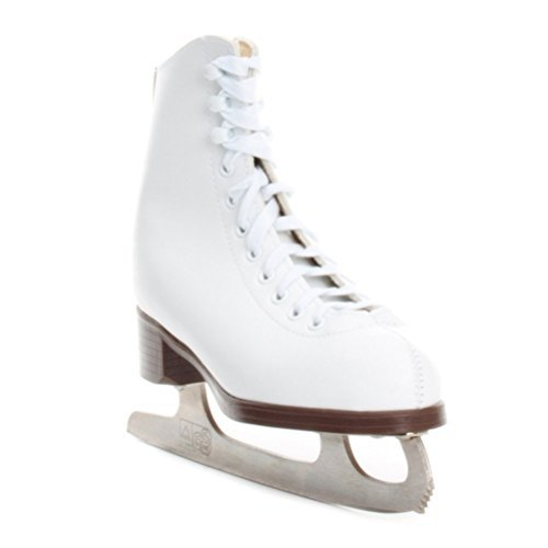 Jackson Ultima GSU121 Glacier White Figure Ice Skates for Kids/Size: Junior 13
