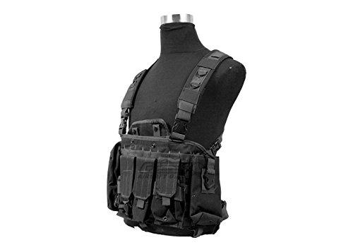 Defcon 600 Denier Commando Chest Rig (Black) by DEFCON 5