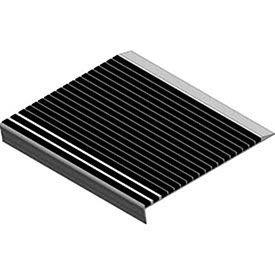 "Babcock-Davis Stair Tread With Bar Abrasive Bstrb-A11d-72, 72""W X 11""D, Extruded Aluminum"