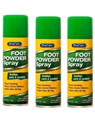XtraCare Foot Powder Spray, Soothes cools & comforts 4.8 Oz (Pack of 3 by XtraCare