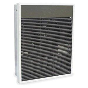 Dayton 3ENC9 Electric Heater, 277V, 1Phase, 2000W, White