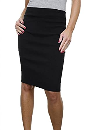 ICE (2495) Office School Stretch Pencil Skirt 22