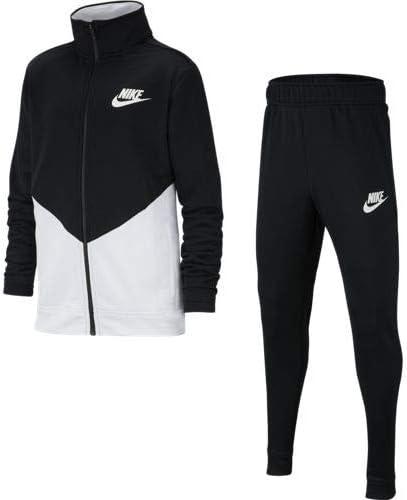 Nike B NSW Core TRK Ste Ply Futura Chándal, Unisex niños, Black ...