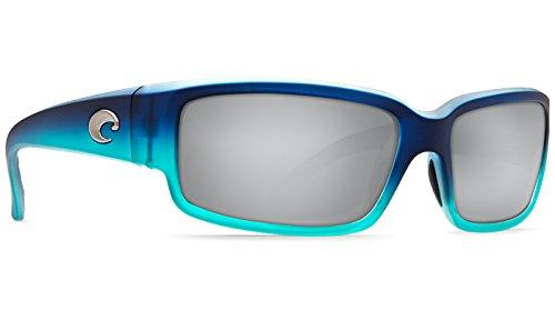 Costa Del Mar Caballito Sunglass, Matte Caribbean Fade/Silver Mirror - Sunglasses Mar Costa Del Clear