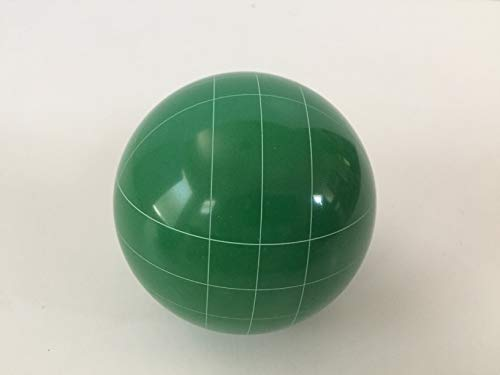 Replacement Bocce Ball - 107mm - Green with Straight line Pattern