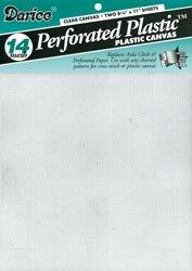 Plastic Canvas Sewing - Bulk Buy: Darice Plastic Canvas 14 Count 8 1/2