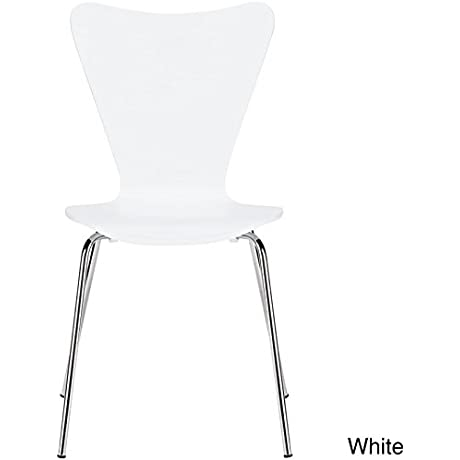 Poly And Bark Elgin Side Chair In White
