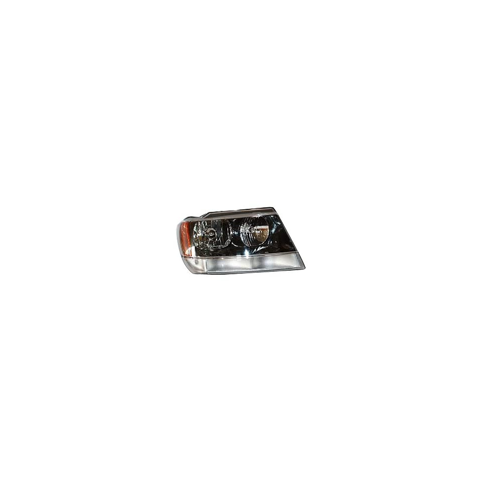 TYC 20 5575 80 Jeep Grand Cherokee Passenger Side Headlight Assembly