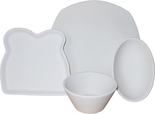 ecial Set - 4 Serving Dishes - Fusible Glass Slumping Mold (Glass Fusing Slump Kiln Mold)