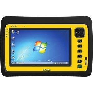 Trimble Yuma 2 CX Net-tablet PC - 7'' - Wireless LAN - 3.75G - Intel Atom N2600 1.60 GHz - Yellow - 4 GB RAM - 64 GB SSD - Windows 7 Professional - Slate - 1024 x 600 Multi-touch Screen Display - Bluetooth - T7146L-H3S-00