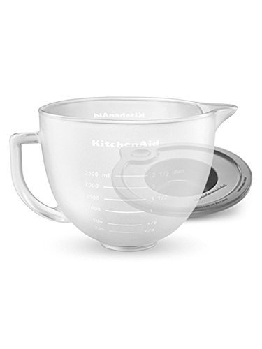 kitchenaid 5 quart glass bowl - 4