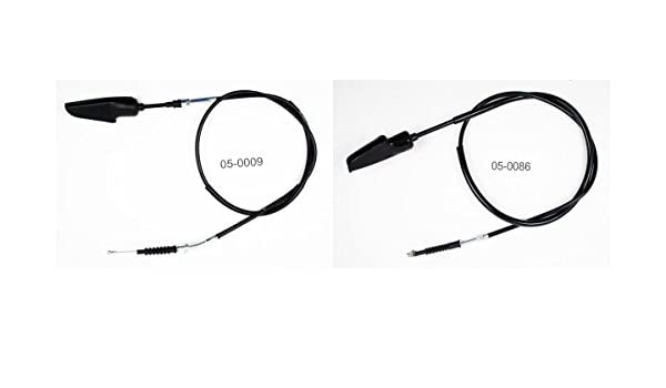 Amazon.com: Clutch CW & Front Brake Cables Bundle for YAMAHA DT 400 1977-1978 MOTION PRO: Automotive