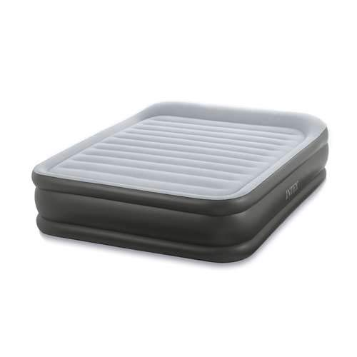 Intex Queen Deluxe Pillow Rest Fiber-Tech Airbed