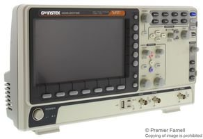 GW Instek GDS-2072E Digital Storage Oscilloscope, 2-Channel, 1 GSa/s Real-Time Sampling Rate, 70 MHz, 10M Memory Depth, VPO Technology