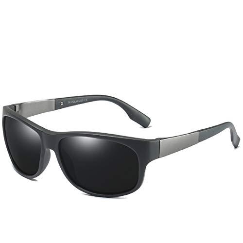 Sunglasses Sun Glasses Male Polarized TR90 Frame Goggles Eyewear Accessories UV400 C4 Gray Gray ()