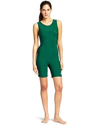 Amazon.com : ASICS Women's Solid Modified Wrestling Singlet, Forest, X