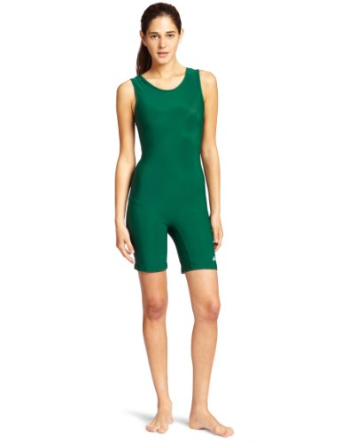 (ASICS Women's Women's Solid Modified Singlet, Forest, Large)