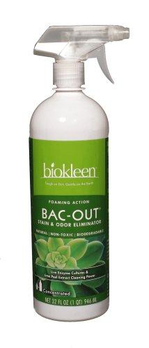 Biokleen Bac-Out Stain+Odor Remover Foam Spray, Destroys Sta