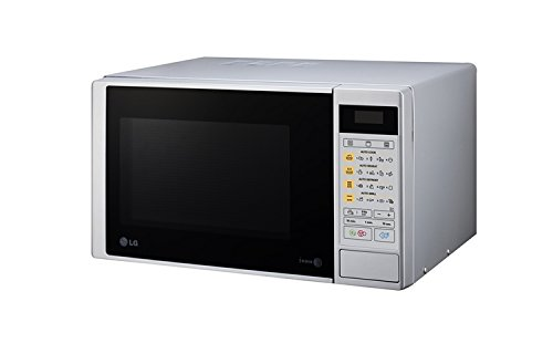 LG MH6042DS - Horno microondas con grill, color: plateado ...