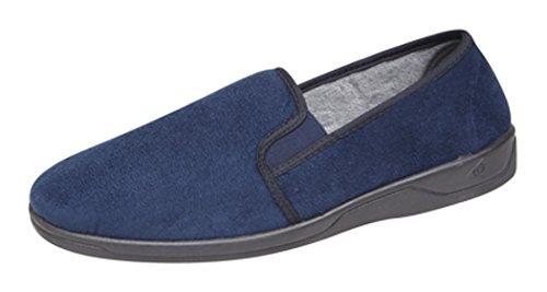 Dunlop , Herren Hausschuhe Blau