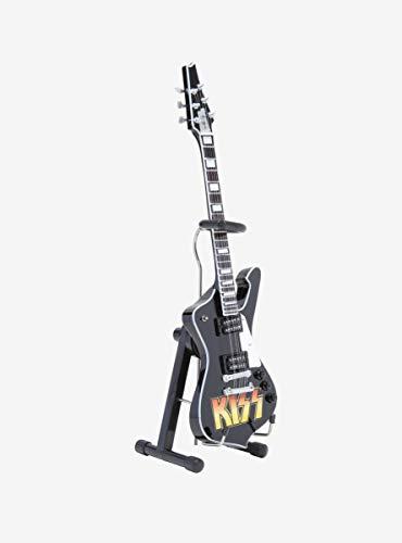 Hot Topic KISS Logo Paul Stanley Iceman Mini Guitar Model ()